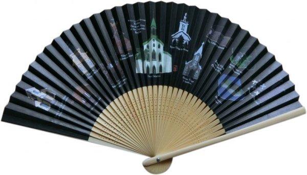 画像1: 長崎の教会群 扇子 (1)